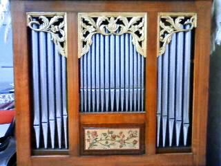 Pipe organ in my room