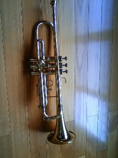 This trumpet is 40 years old!