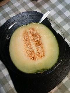 Melon made in Ibaraki