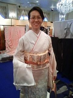 Exhibition of kimono