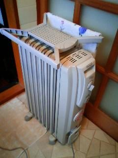 New oil heater
