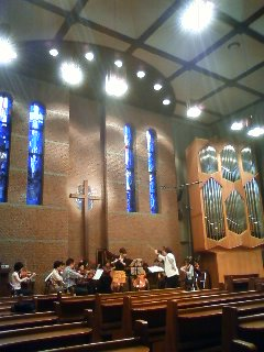 Chamber concert in the church