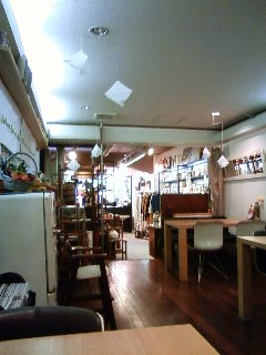 Organic cafe in Mito