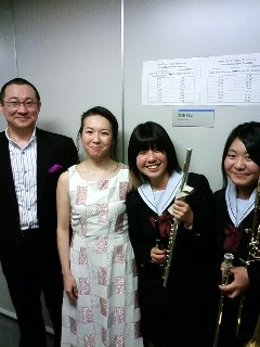 Concert with Mito girls high school
