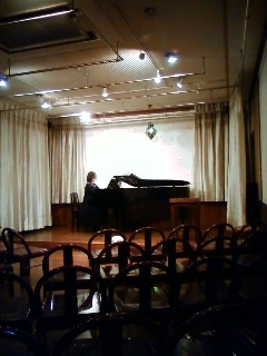 my students' concert in Mito