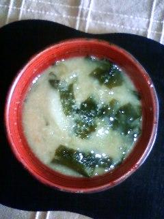 sake-miso soup