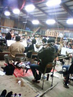 NEXUS BRASS rehearsal