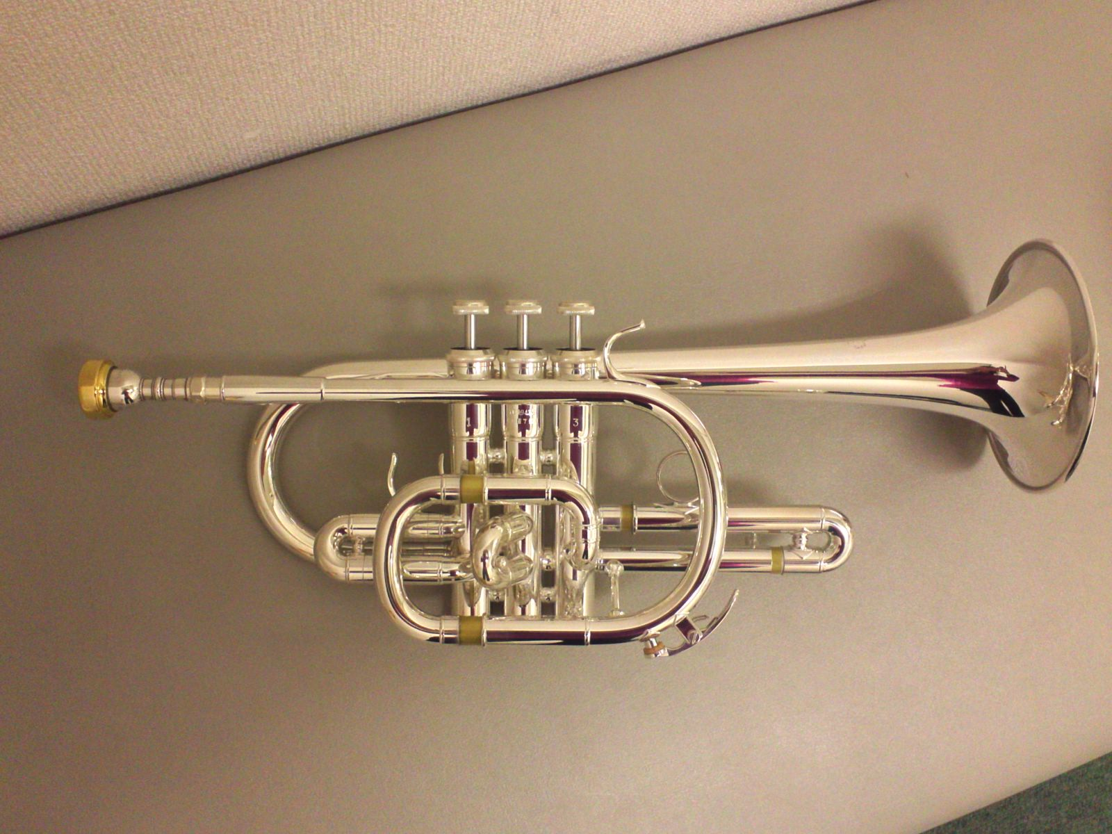 I bought a new C cornet!