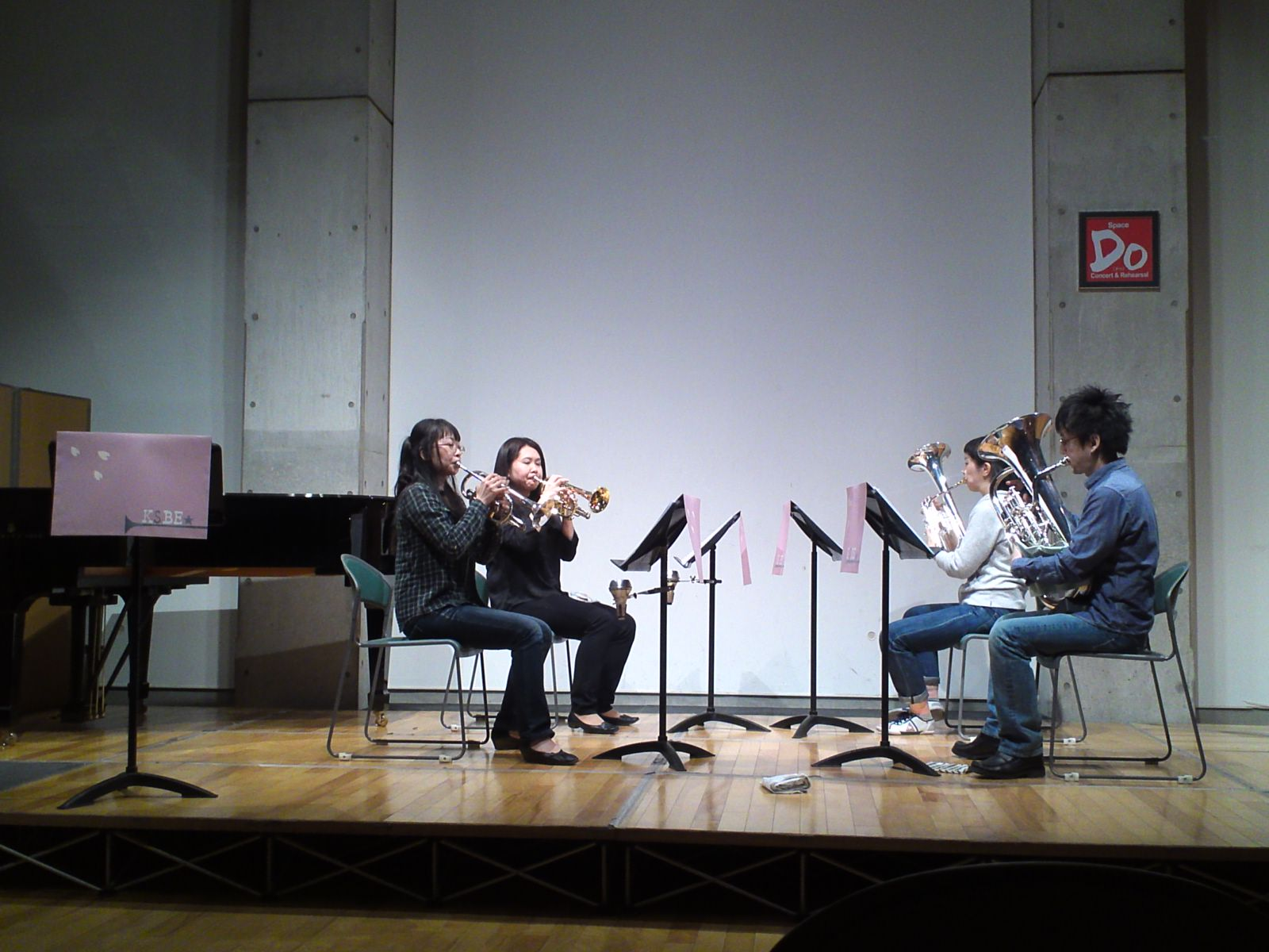 my students concert at Tokyo